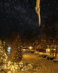 Winter Night at Yundola