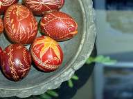 Easter eggs - Exhibition in the Ethnographic Museum Plovdiv
