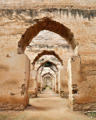 Royal stables in Meknes