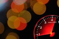 Tachometer and lights