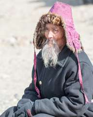 Mongolian Old Man