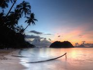 Sunset near El Nido