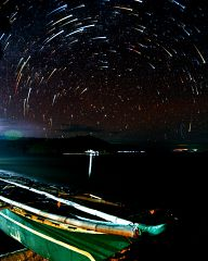 Startrails on the island of Ticao