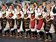 Dance group from Serbia 