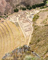 Pisac - an ancient Inca village