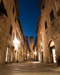 Night at San Gimignano