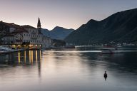Morning lights at Perast