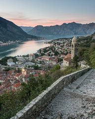 Sunset over Kotor