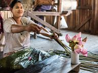 Craft workshops in Inle