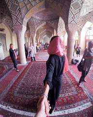 Follow me... In the mosque