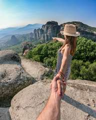 Follow me... To Meteora