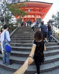 Follow me... To the temple
