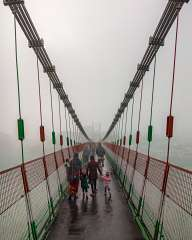The bridge over the Ganges