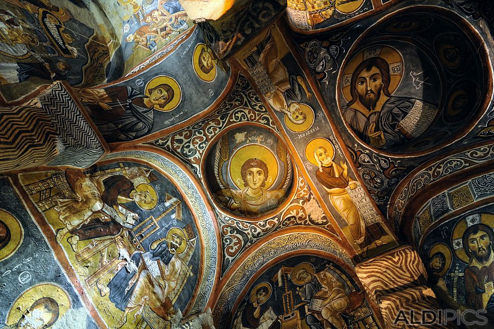 Rock Churches - Authentic paintings