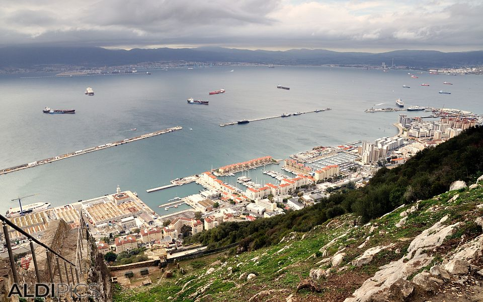 From the rock of Gibraltar