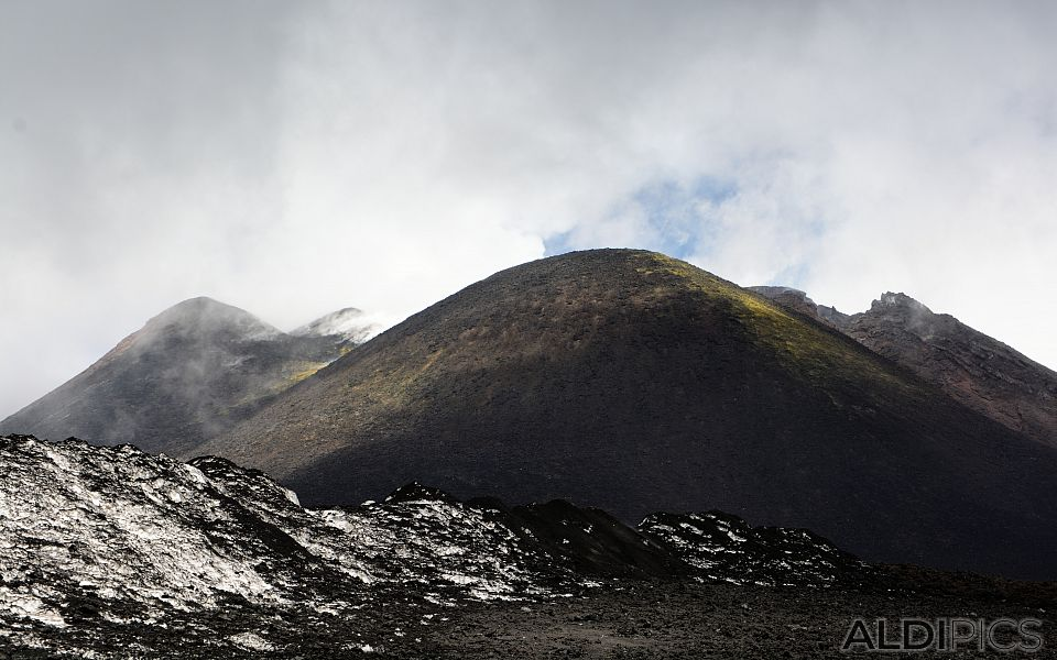 Ascent to Mount Etna