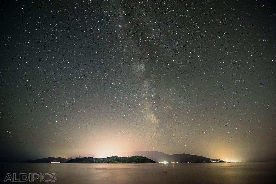 Milky Way over Thassoss