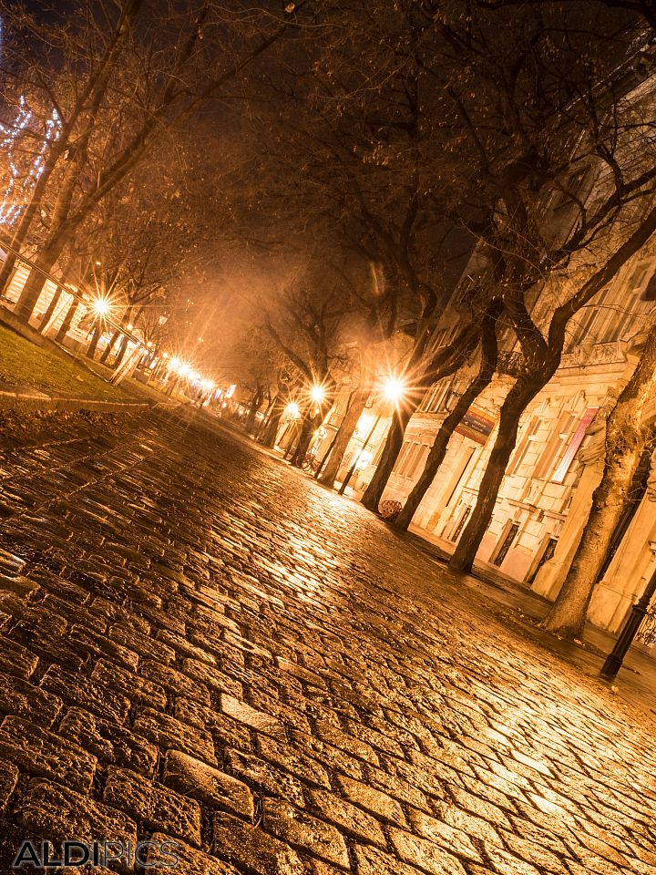 The streets of Old Bratislava