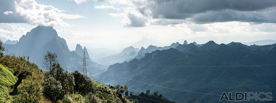 Mountains of Laos