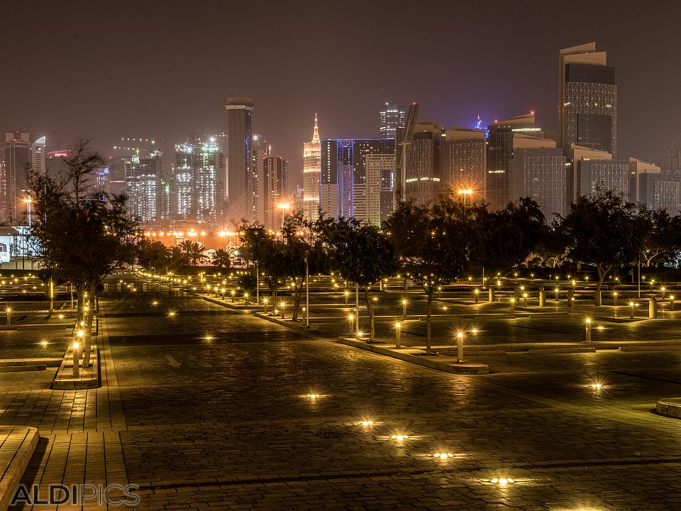 Doha at night