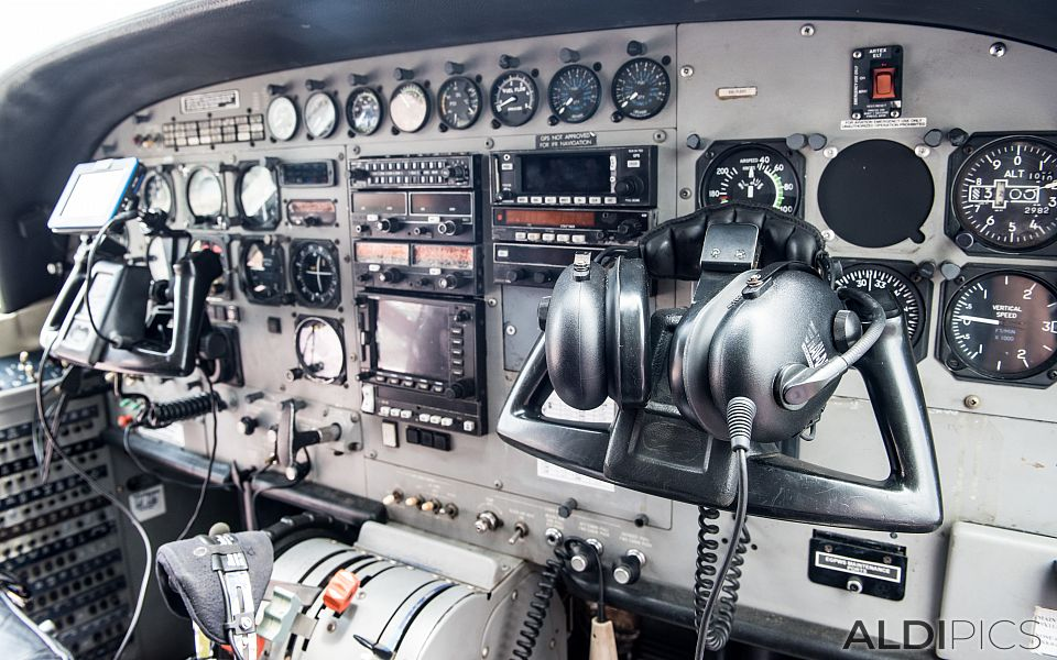 Airplane dashboard