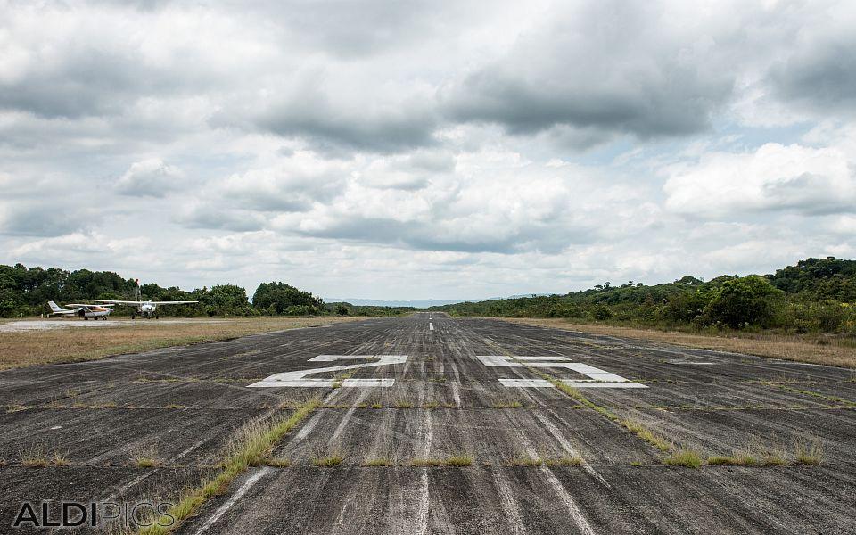 Самолетната писта