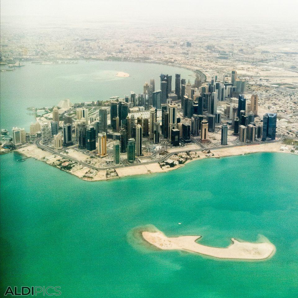 Полет над Доха