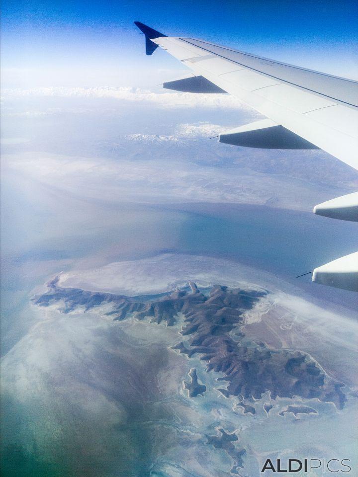Somewhere over Iran