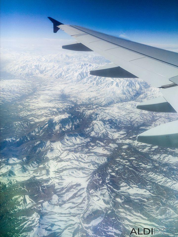 Някъде над Иран