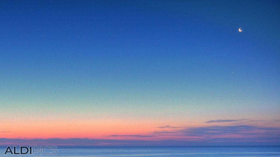 Утро над Черно море
