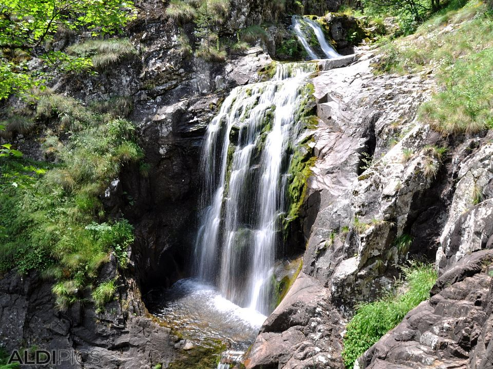 """Canyon of waterfalls"" near Smolyan"