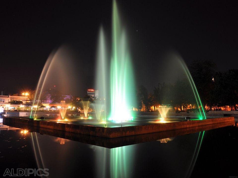 Пеещите фонтани