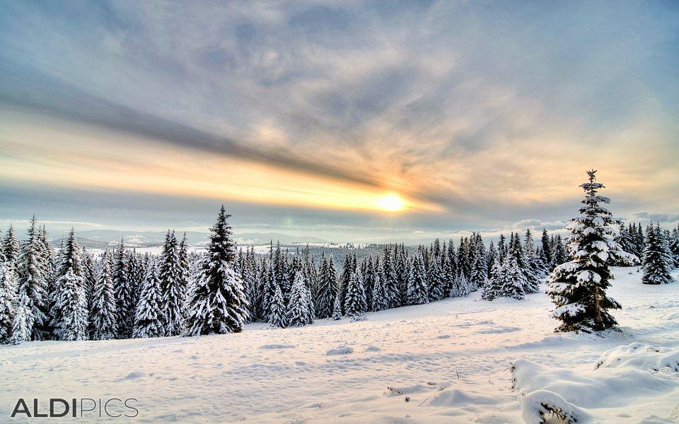 Sunset of Belmeken