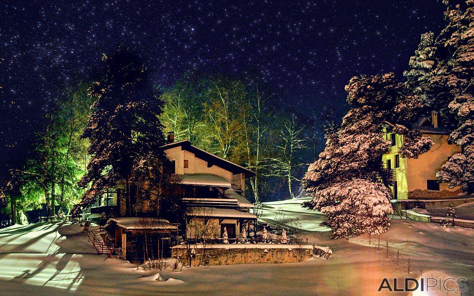 Зимна нощ на Юндола