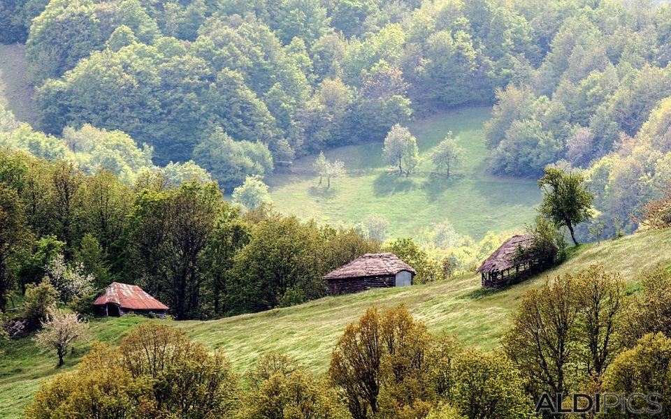 Къщички в Родопите