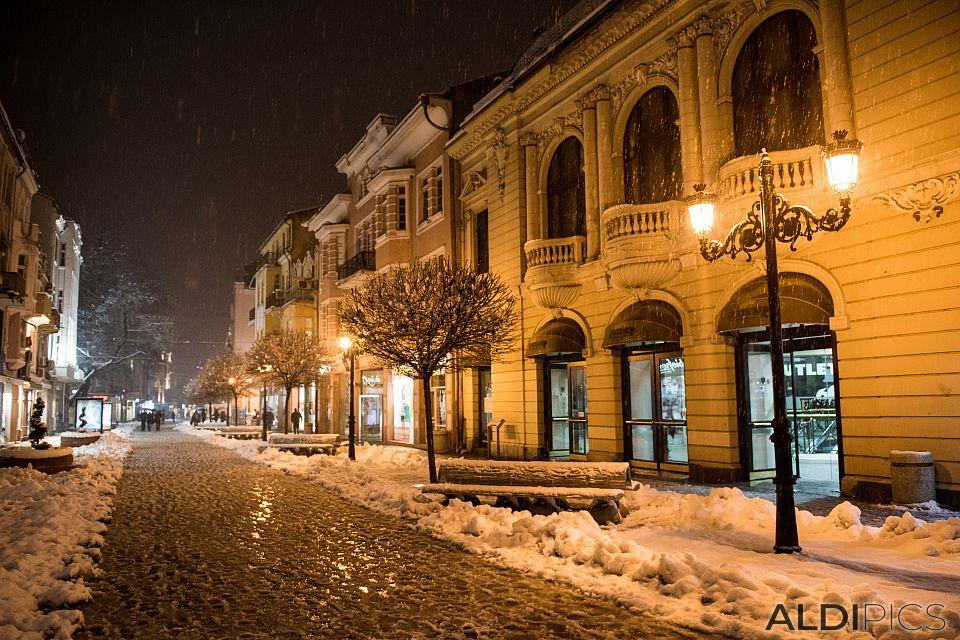 Snow Plovdiv