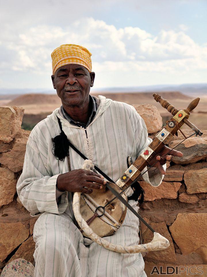 Марокански музикант