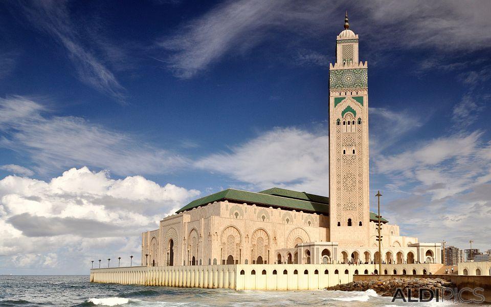 Джамията Хасан II в Казабланка