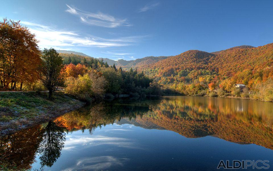 Autumn in Rhodopes near Rosovo village