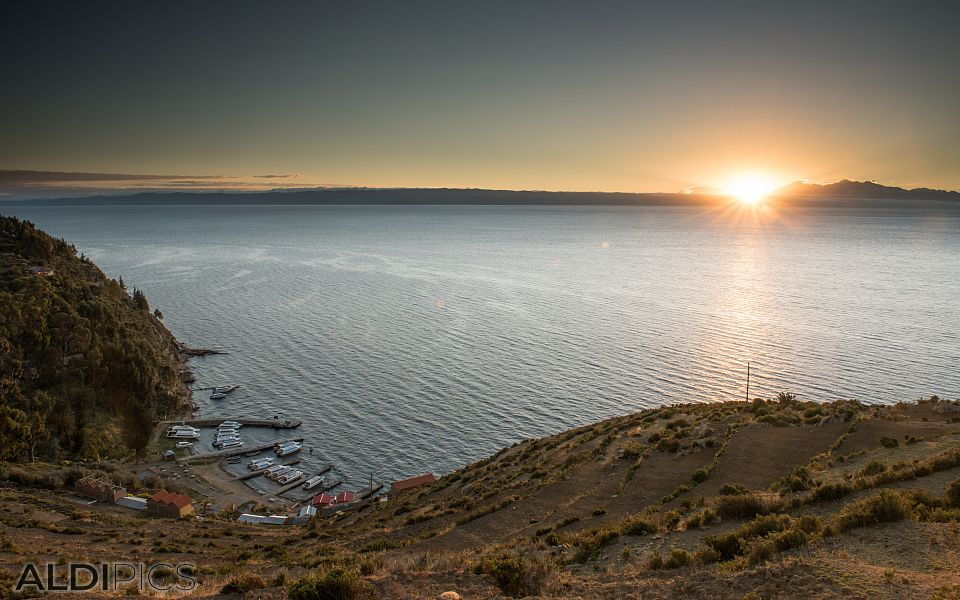 Morning over Titicaca