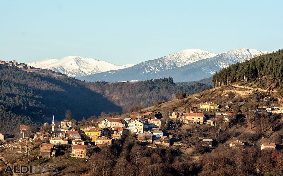 Rhodope Mountains near Sv.Petka village