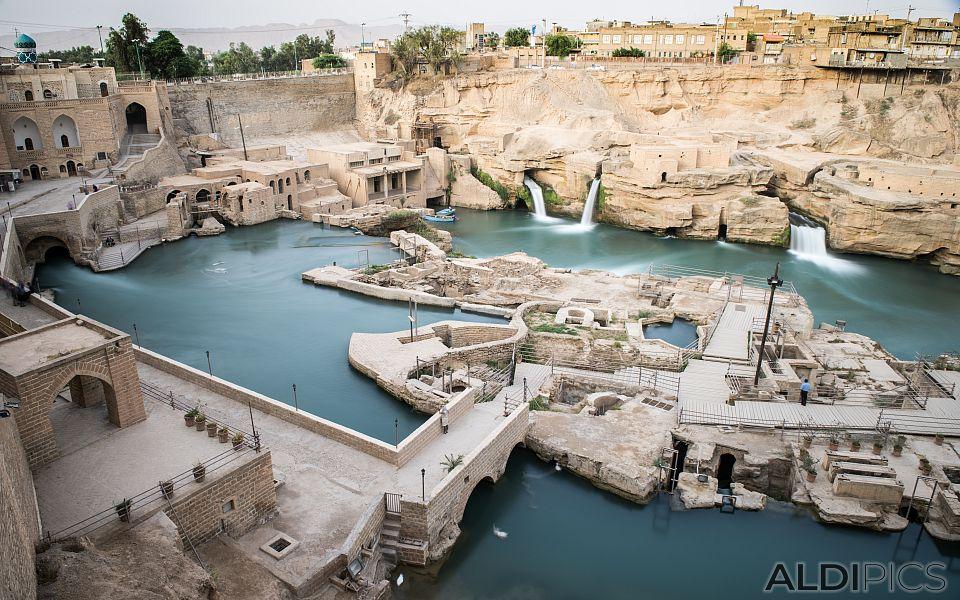 Античните хидравличните съоръжения на Шуштар