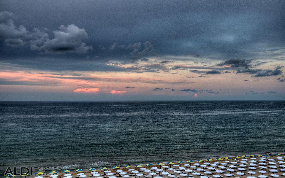 The beach of Albena