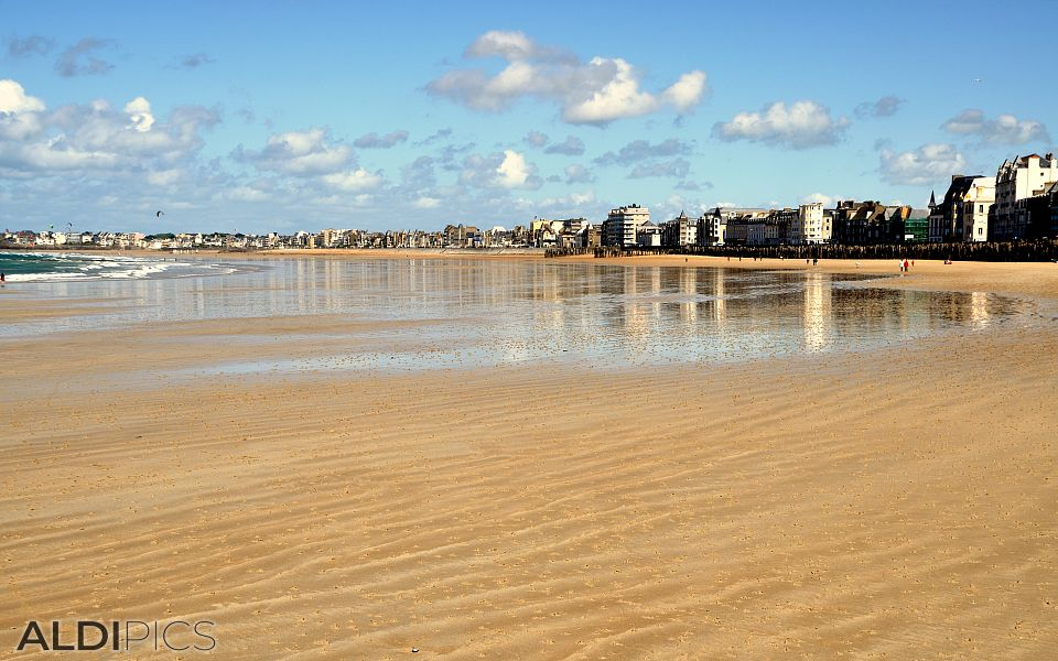 Beach of Saint-Malo