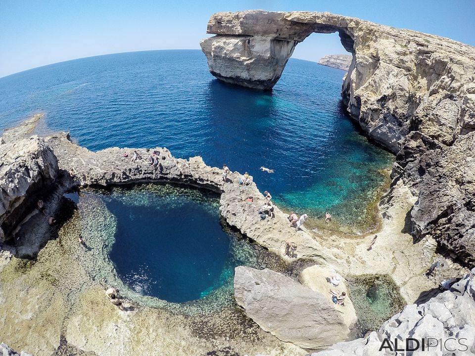 Blue Hole and Azure Window