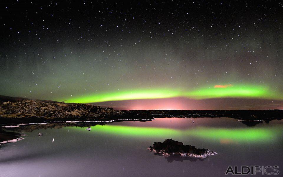 Northern Lights near Grindavik
