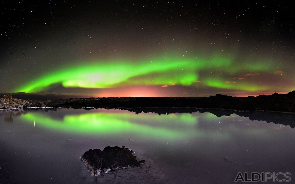Northern Lights near Grindavik