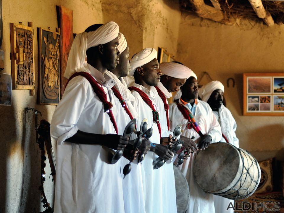 Музиканти от селото Khamlia