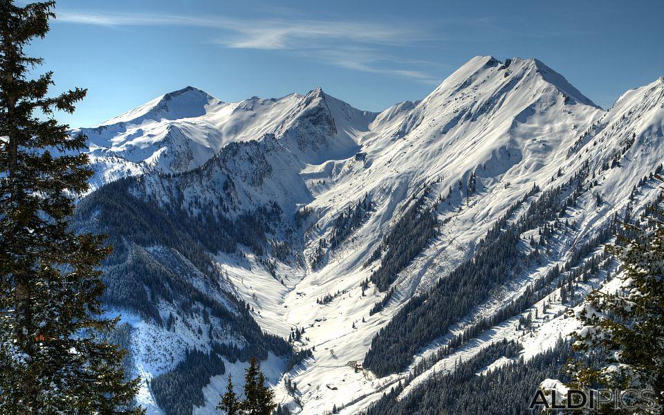 Winter in Austrian Alps