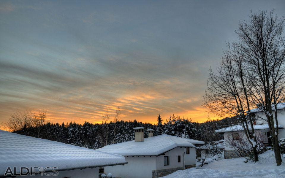 Icy Morning at Tsigov Chark